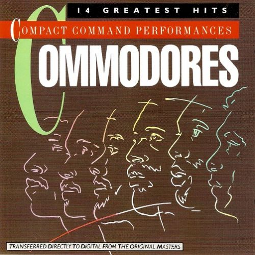 COMMODORES 14 Greatest Hits CD Album Motown 1983